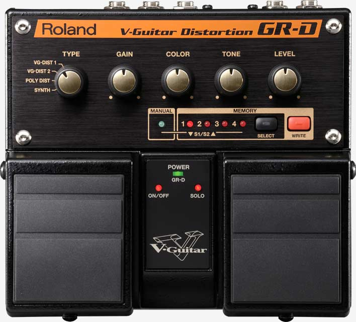 GR-D: V-Guitar Distortion