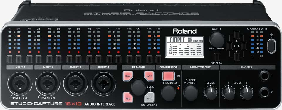 STUDIO-CAPTURE: USB 2.0 Audio Interface
