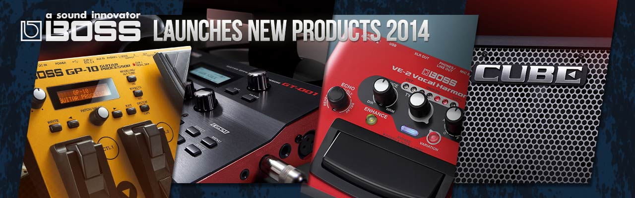BOSS 2014 New Products